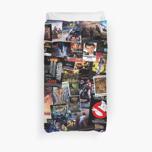 Affiches de films des années 80 Housse de couette