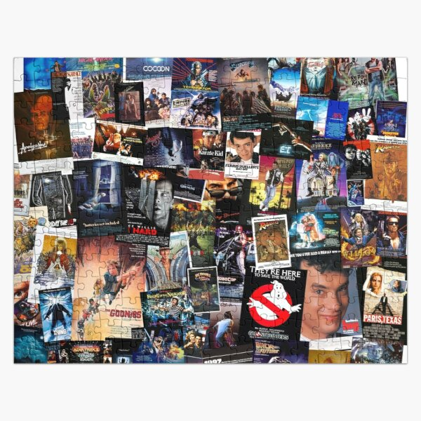 1980s Movie Posters Jigsaw Puzzle