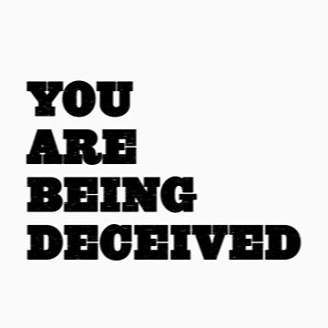 You are being deceived by MacYourselfhome
