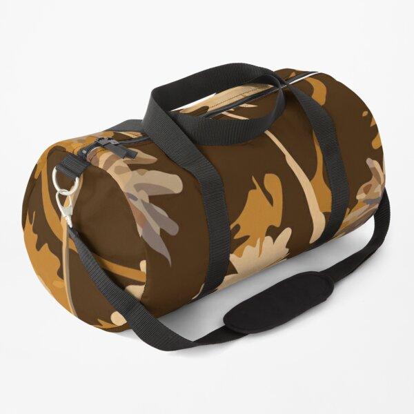 Stylish Retro Tropical Plam Tree Layer Sailor Rope Texture Summer Mood Duffle Bag
