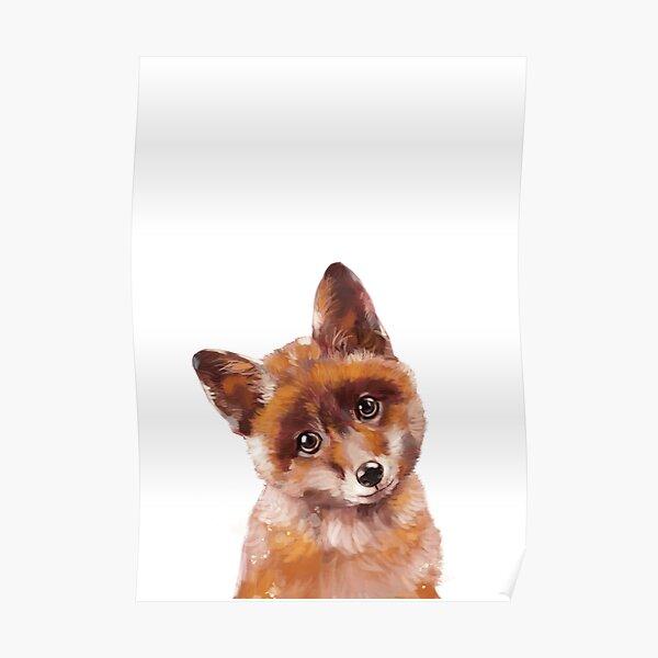 Baby Fox Poster