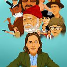 The World of Wes Anderson by Lauren Draghetti
