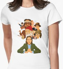 The World of Wes Anderson Women's Fitted T-Shirt