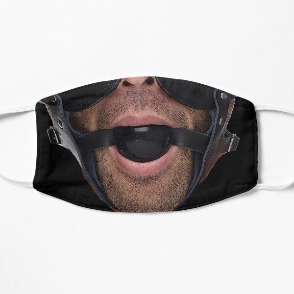 Ball Gag Facemask Flat Mask