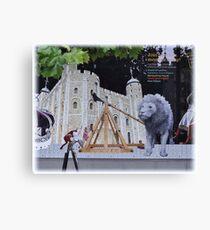 Torre    Blanca de Londres.       Toda una experiencia........ Canvas Print