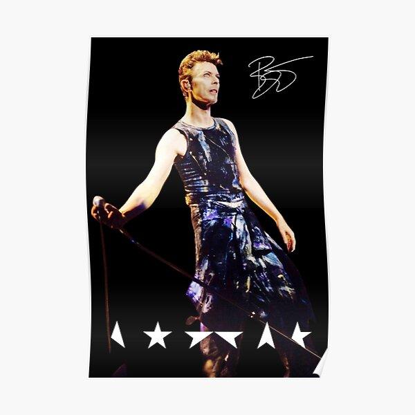 Bowie Signature Series '95 Póster
