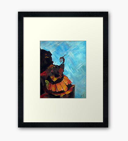 Untitled Woman Framed Print