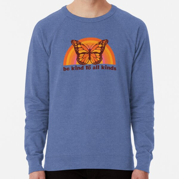Be Kind to All Kinds Crewneck Sweatshirt Lightweight Sweatshirt