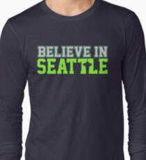"VICTRS ""Believe In Seattle"" Long Sleeve T-Shirt"