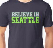 "VICTRS ""Believe In Seattle"" Unisex T-Shirt"