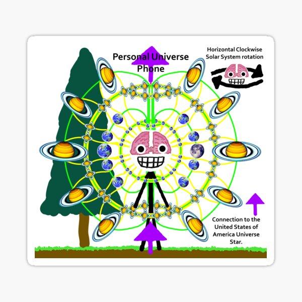 Personal Universe Sticker