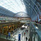 St Pancras International Terminus by davidbloomfield