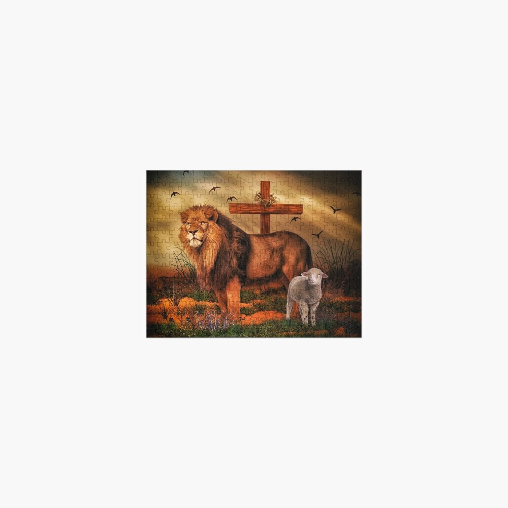 The Lion And The Lamb Jigsaw Puzzle