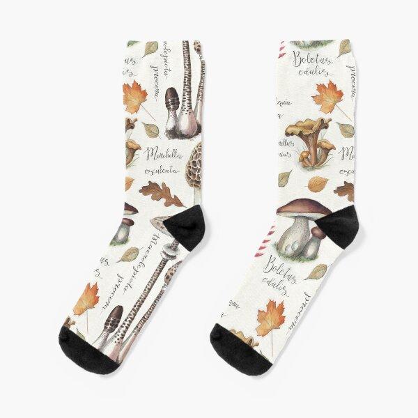 Botanische Pilze Socken