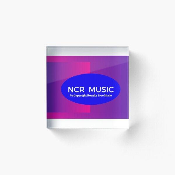 NCR Music Acrylic Block