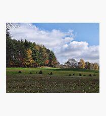 More fall scenery Photographic Print
