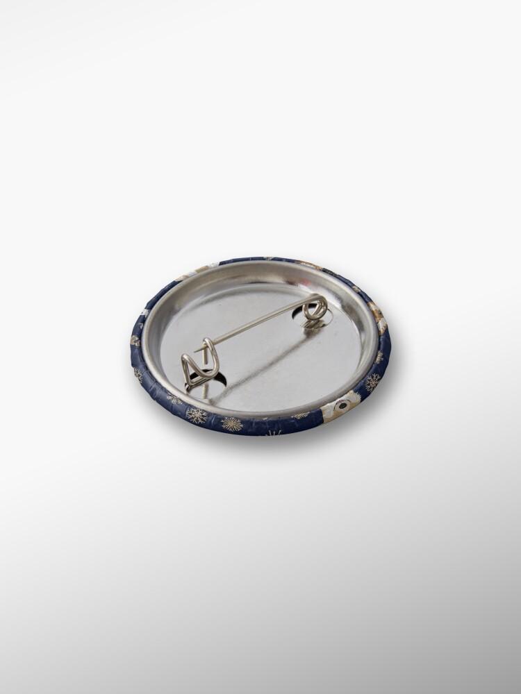 Alternate view of Merry Corgmess - blue Pin