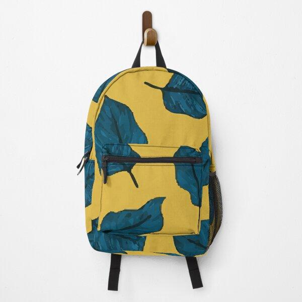 Exotic Palm Leaves Exotic Textile Botanical Design Summer Jungle Design Hawaiian Style Backpack