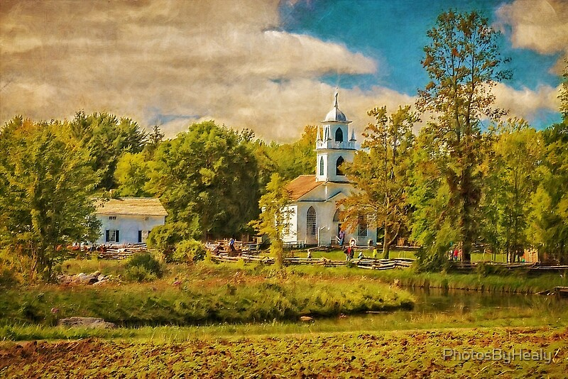 Little Country Church by Healy