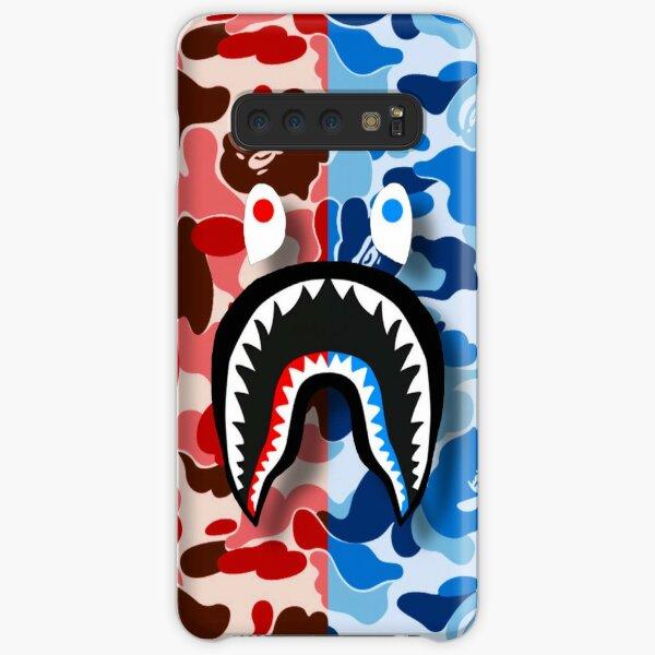 Red & Blue Bape Shark Samsung Galaxy Snap Case