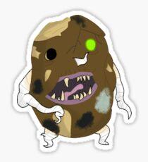 Produce Zombies - Putrid Potato Sticker