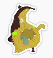 Produce Zombies - Squashed Sticker