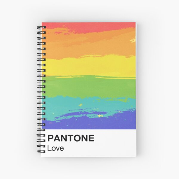 Love Equality Pantone Spiral Notebook