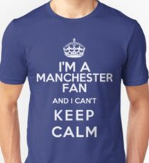 Keep Calm I Support Manchester United T-Shirt