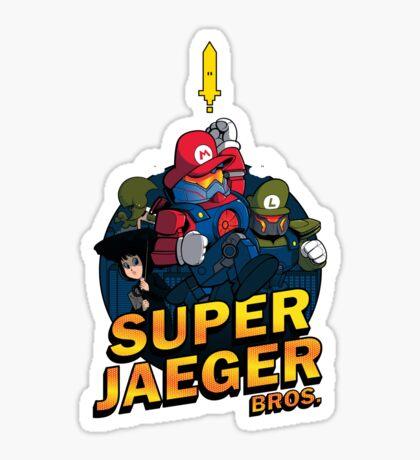 Super Jaeger Bros Sticker