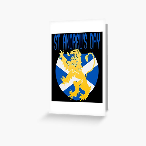 Happy St Andrew's Day Greeting Card