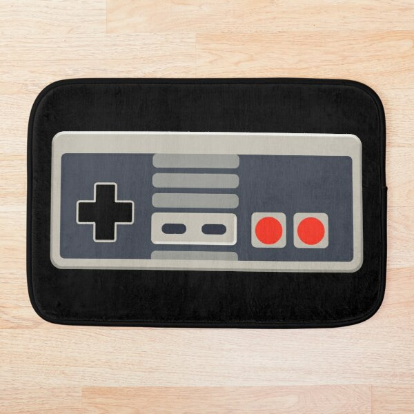 Vintage gamer Bath Mat