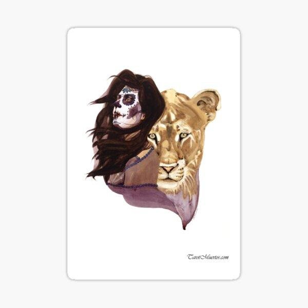 Strength - Fuerza  Sticker