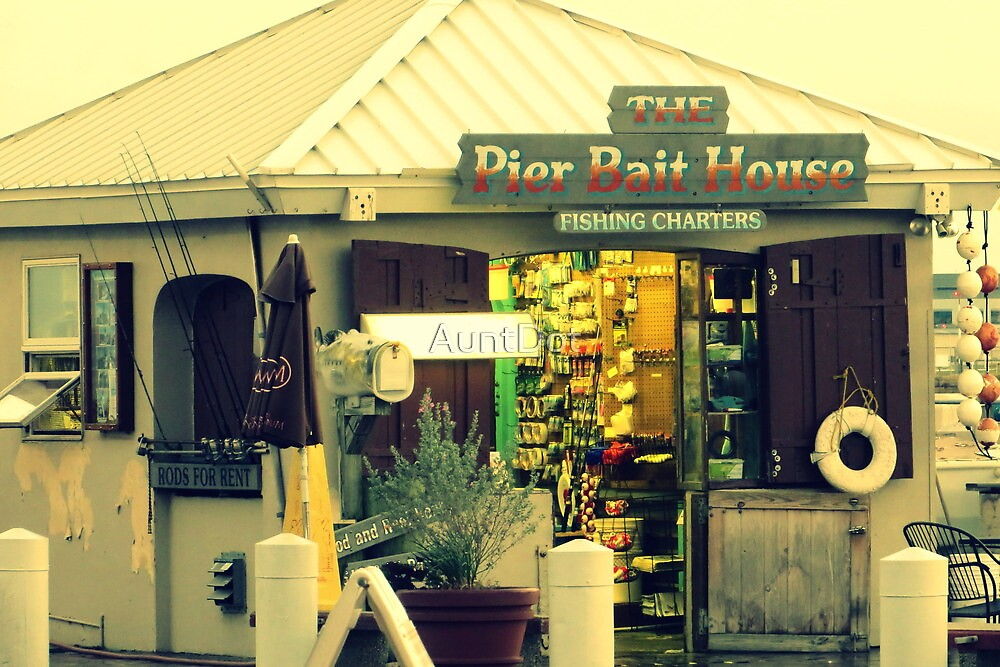 The Pier Bait House by AuntDot