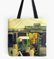 The Pier Bait House Tote Bag