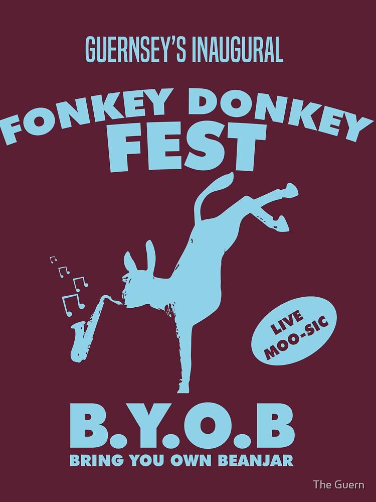 Fonkey Donkey - Light Blue by theguern