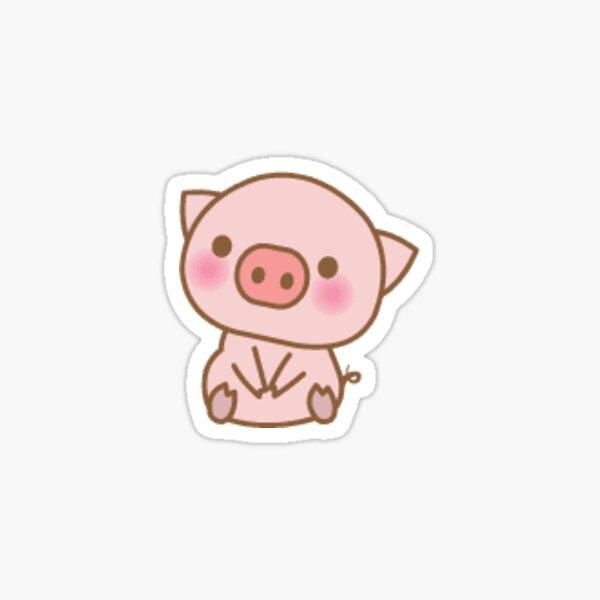 Cute Piggy Sticker