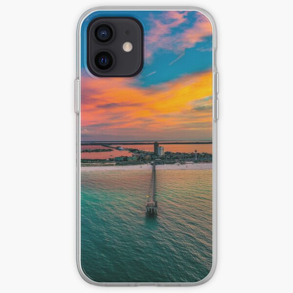 Pier Sunrise iPhone Soft Case