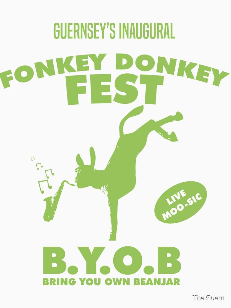 Fonkey Donkey - Green by theguern