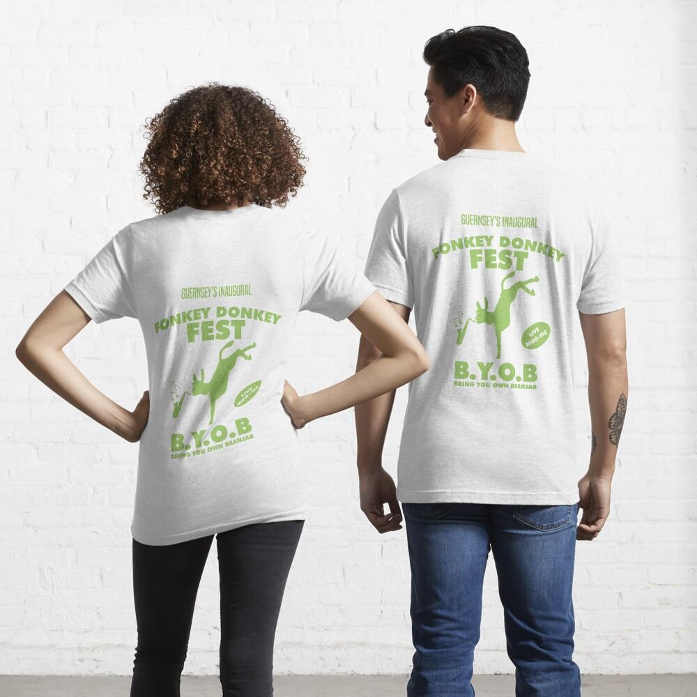 Fonkey Donkey - Green Essential T-Shirt