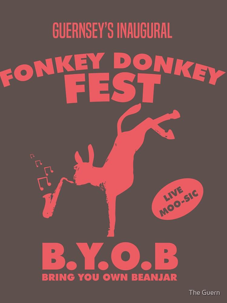 Fonkey Donkey - Coral by theguern