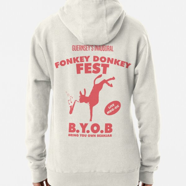 Fonkey Donkey - Coral Pullover Hoodie
