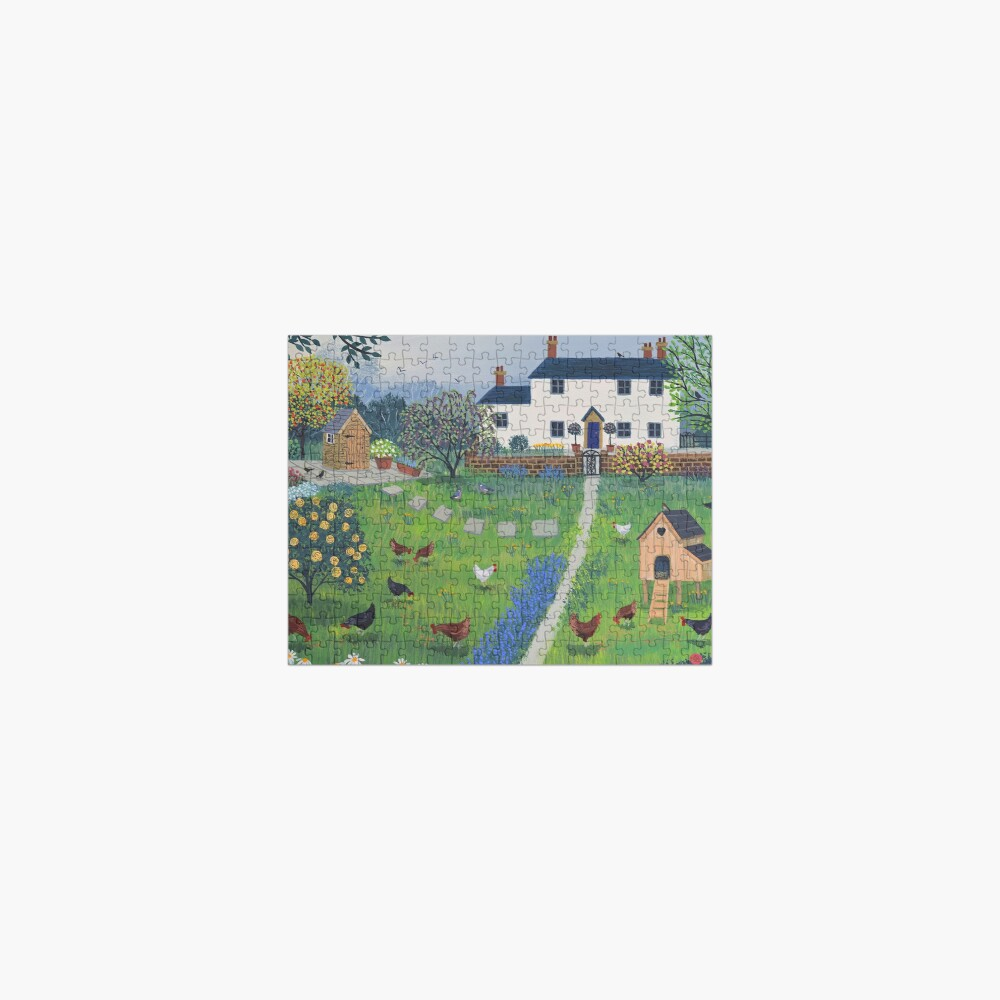 The Hen House Jigsaw Puzzle