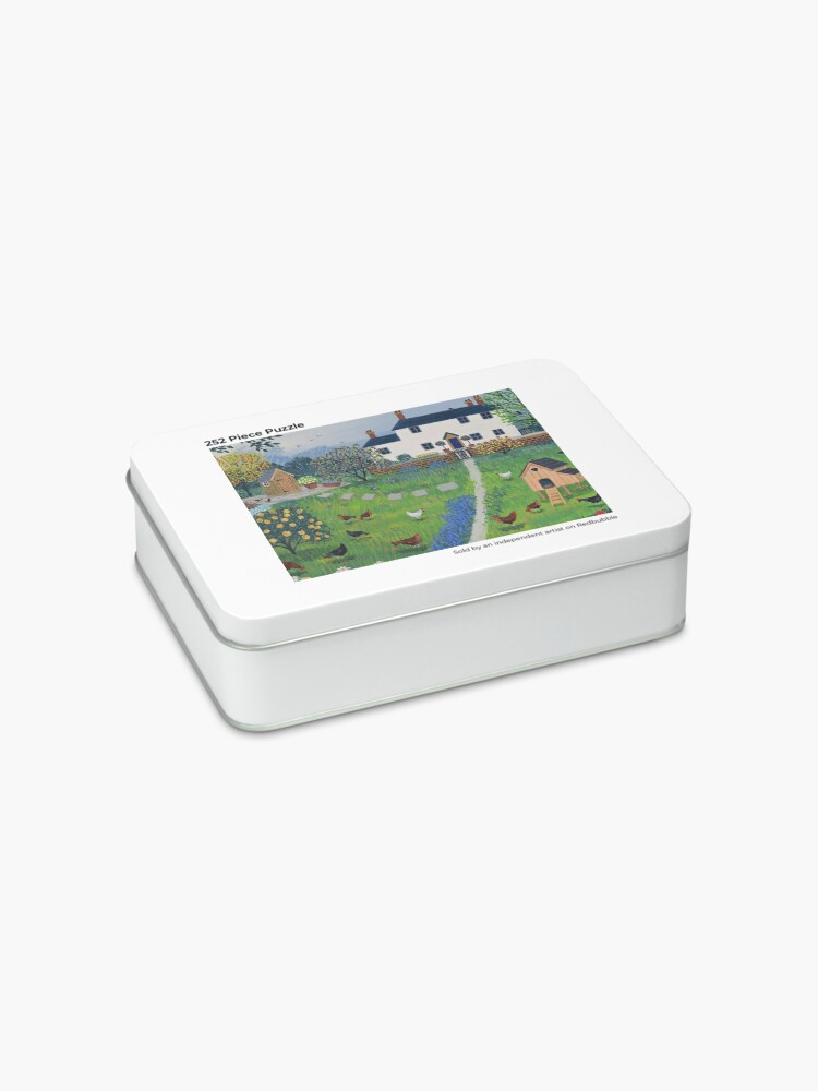 Alternate view of The Hen House Jigsaw Puzzle