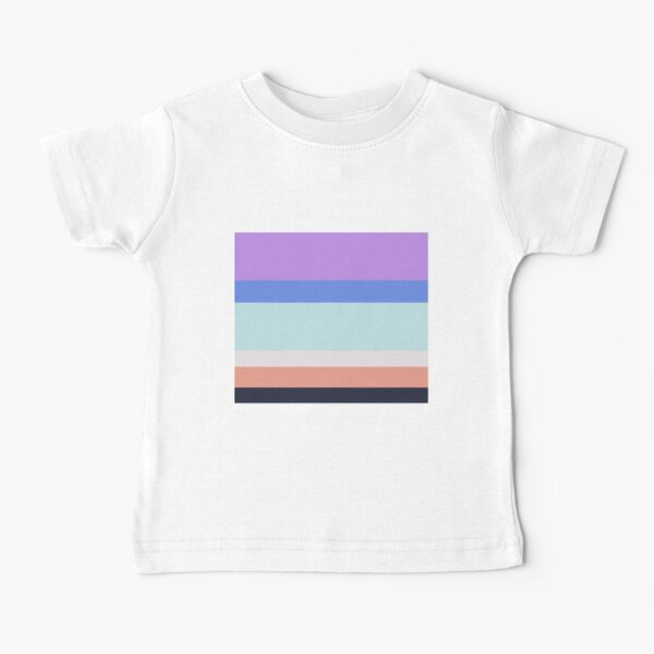 Colorful Stripes Baby T-Shirt