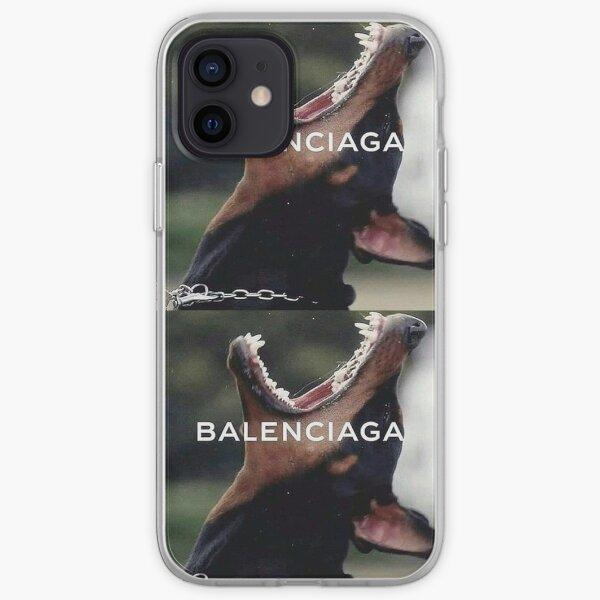 Balenciaga Esthétique Coque souple iPhone