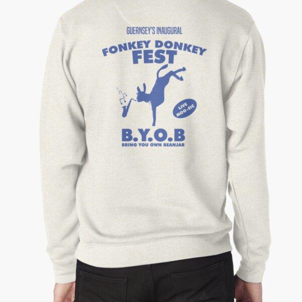 Fonkey Donkey - Blue Pullover Sweatshirt