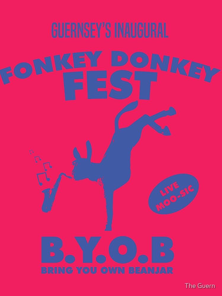 Fonkey Donkey - Blue by theguern