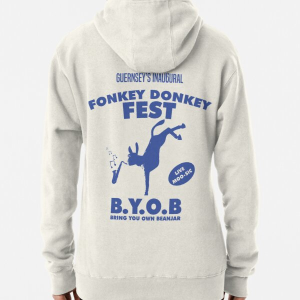 Fonkey Donkey - Blue Pullover Hoodie