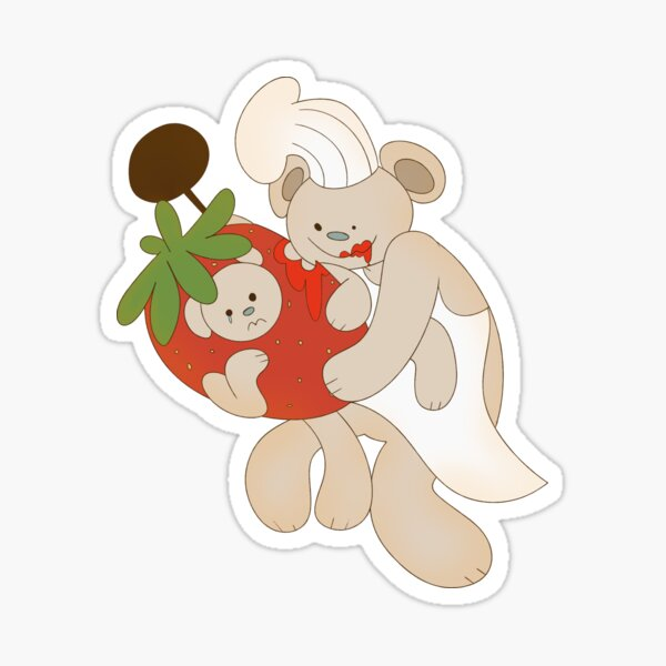 Kissing Big Bobs In Roblox Bear Roblox Stickers Redbubble