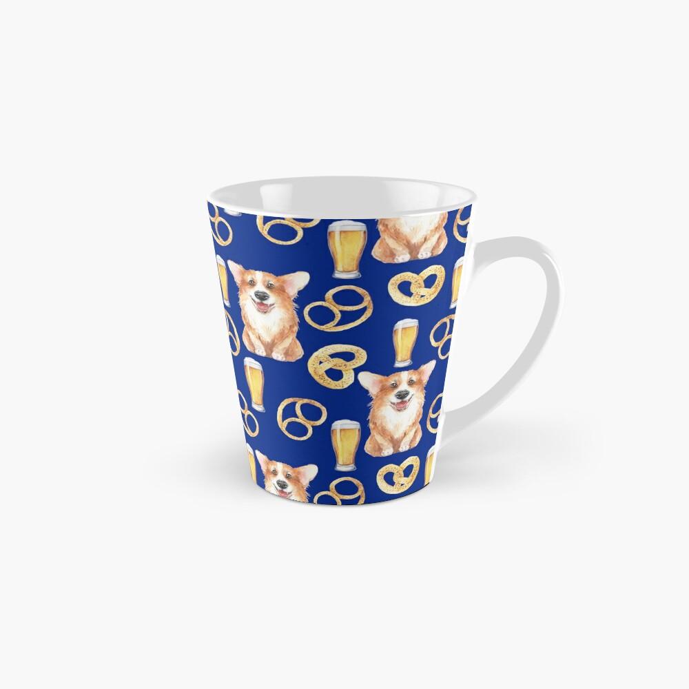 Corgi on Original Bavarian Oktoberfest Mug